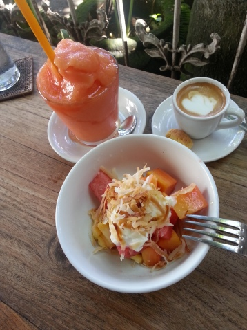 Great brekkie found at Zucchini