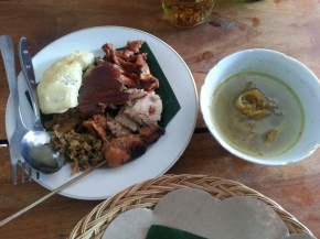 Best Babi Guling in Seminyak - Warung Babi Guling Pak Malen